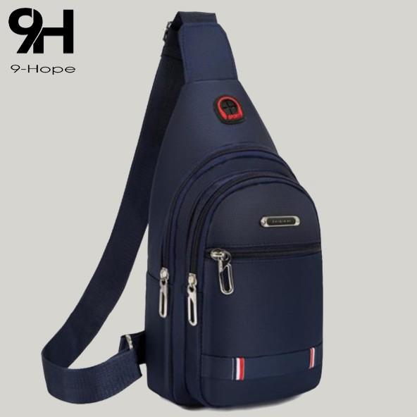 Túi đeo chéo nam vải canvas chống nước 3 ngăn phong cách Hàn Quốc – Túi chéo nam TC78