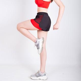 [Mã SKAMCLU7 giảm 10% tối đa 50K đơn 0Đ] Quần short thể thao Boxer Laser 2 lớp cho Nữ, đồ tập gym, aerobic, thể dục thumbnail