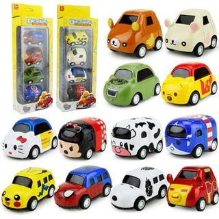 Xe ô tô mô hình nhân vật mini dễ thương | 5-6cm