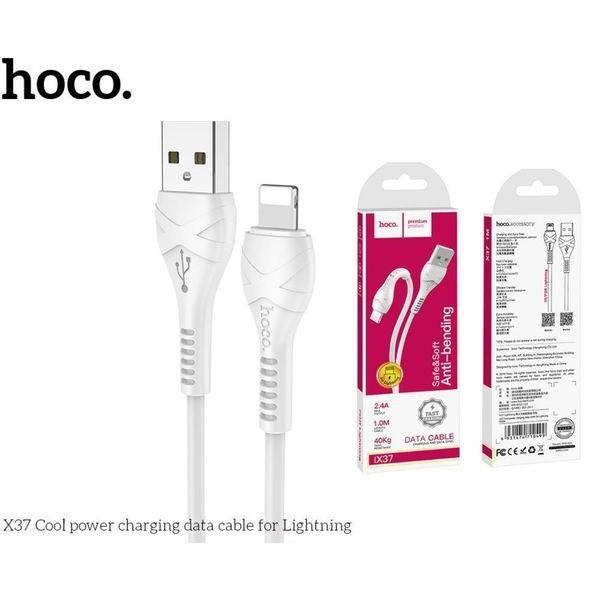 Cáp sạc nhanh Điện thoại/Máy tính bảng HOCO X37 lightning 2.4A - Hàng chính hãng