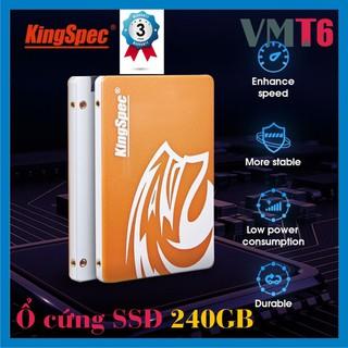 Ổ cứng SSD 240GB KingSpec chuẩn 2.5inch Sata3 tốc độ cao - Bảo hành chính hãng 36 tháng !!!