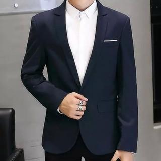 [Sale 50%] Áo vest nam phong cách hàn quốc dáng ôm body màu Xanh đen