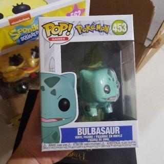 Đồ chơi mô hình Funko Pop 453 Bulbasaur – Pokemon ( Hàng real chính hãng )