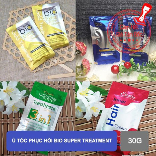 Ủ tóc phục hồi Bio Super Treatment 30g