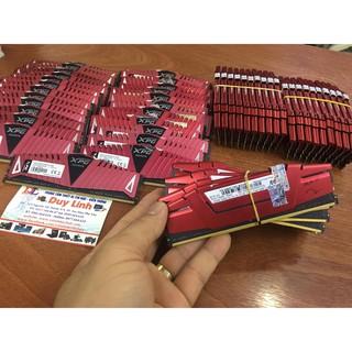 Ram DDR4/2400 4G gskill và adata tản thép đỏ đẹp xịn sò