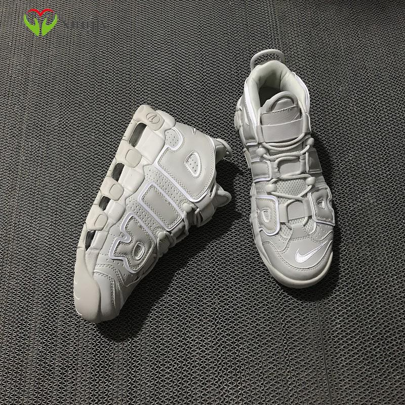 Nike Air More Uptempo Black Nike Pippen 921948-001 รองเท้าผ้าใบสีเบจ