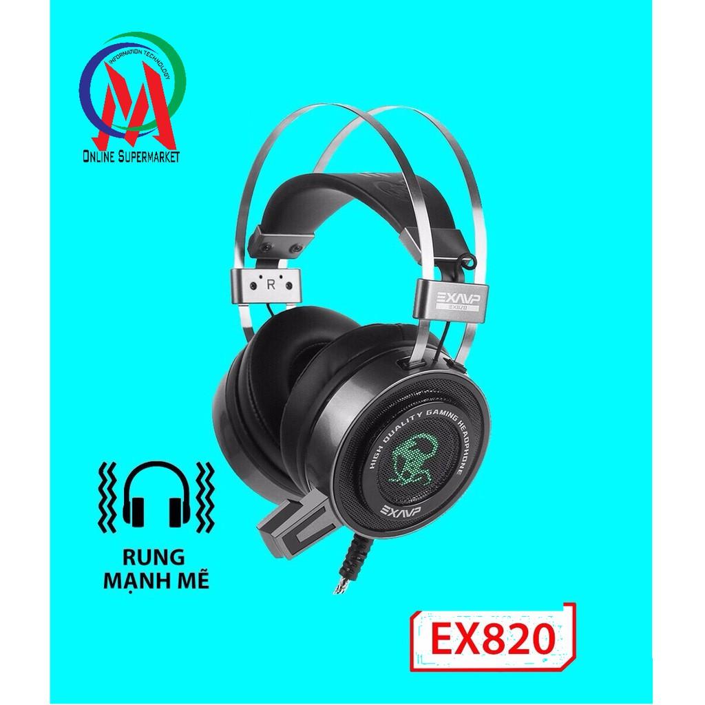 Tai Nghe EXAVP EX820 LED + Rung