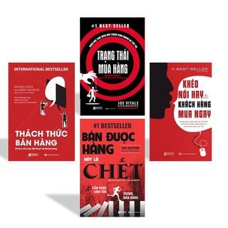 Sách - Combo Thách Thức Bán Hàng + Trạng Thái Mua Hàng + Khéo Nói Hay Để Khách Hàng Mua Ngay + Bán Được Hàng Hay Là Chết
