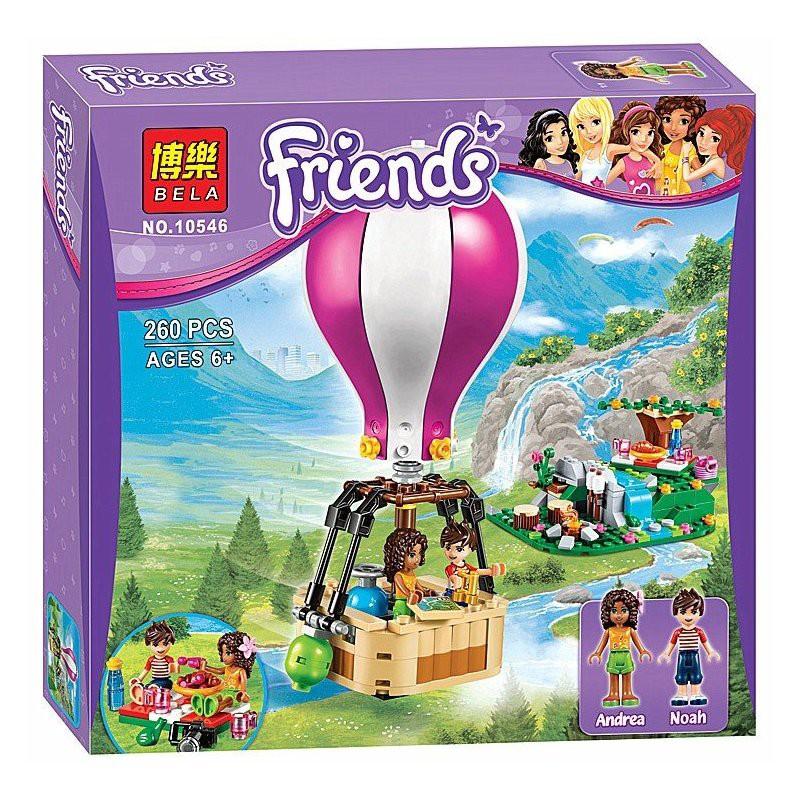 Lego Friends 10546 - Khinh khí cầu - 260 chi tiết