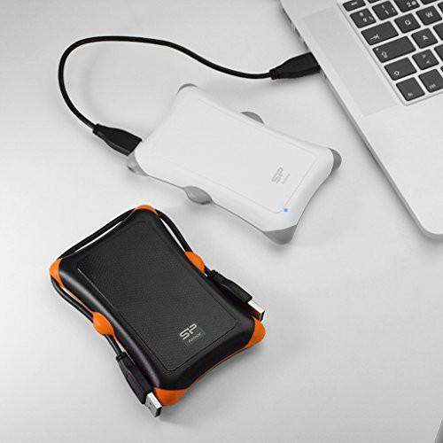 [Mã ELCLAPR giảm 7% đơn 500K] Ổ cứng di động chống sốc 1TB / USB 3.1 A30 Silicon Power Armor chống sốc