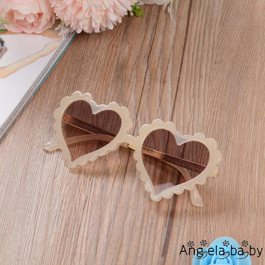 ⓗღ✯Kids Toddler Heart Shaped Sunglasses Cute Fashion UV Protection Sun Glass for Childrens Boy Girl