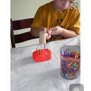 (Giáo cụ Montessori) Set Búa Đinh Luyện Cổ Tay Cho Bé Montessori CXS