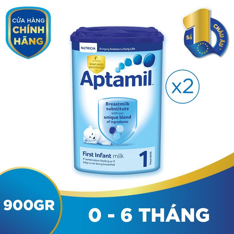Bộ 2 hộp sữa bột công thức Aptamil số 1...