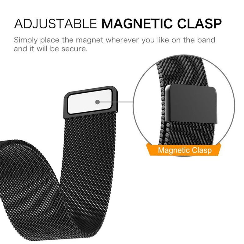 Dây đeo đồng hồ bằng kim loại Fitbit Versa / Versa 2 / Versao cấp cho