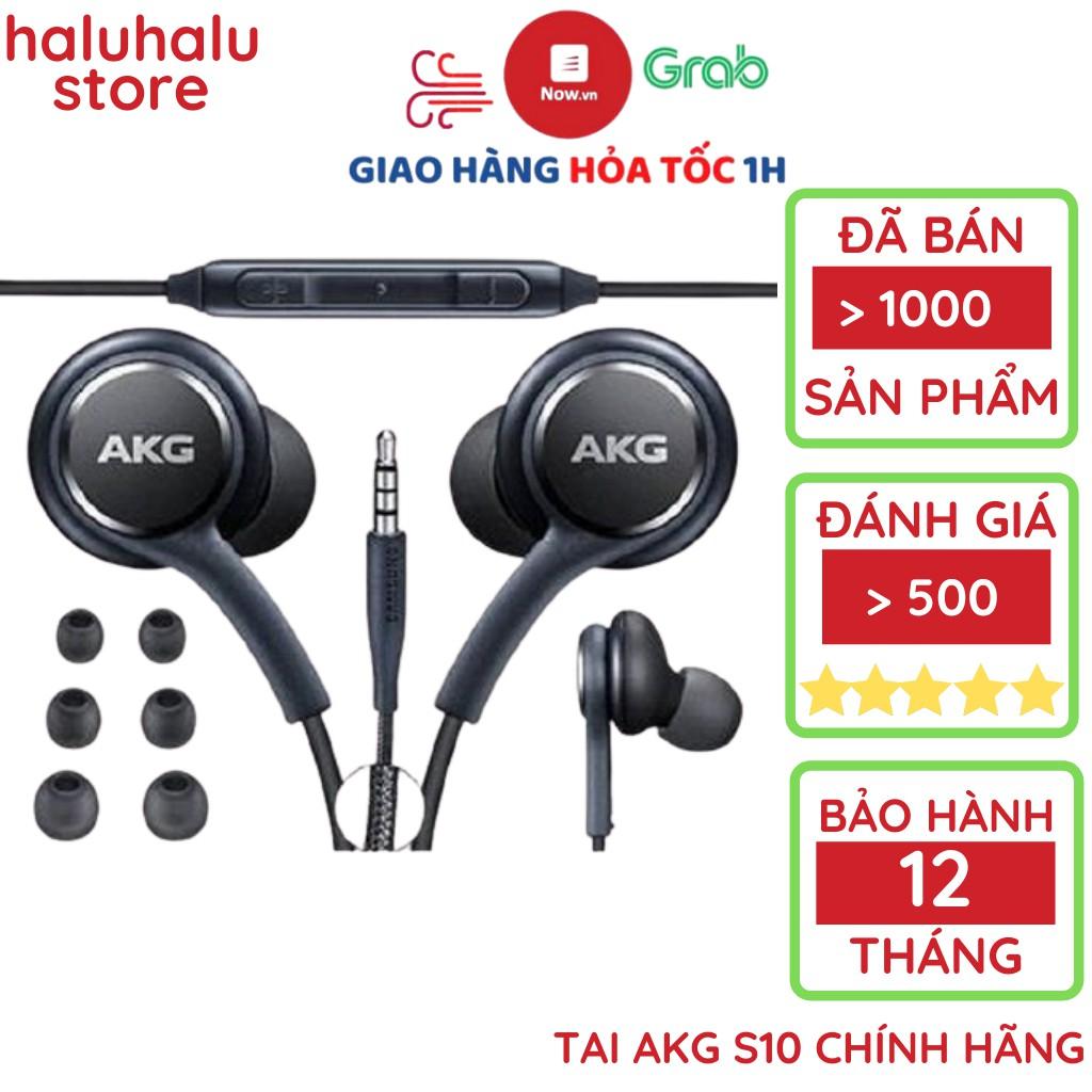 Tai nghe AKG S10 zin chính hãng cho S10 Plus S8, S9, Note 8, Note 9, S10, Note 10 nguyên seal tặng 4 núm phụ
