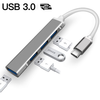 USB C HUB Type-C to USB 3.0 Adapter 4 Ports USB Converter for Laptop