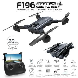 flycam F196 gấp gọn camera hd bay đến 20p có hỗ trợ optical tự đứng yên