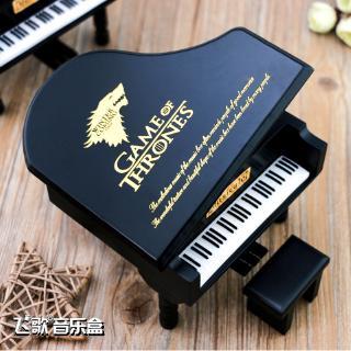 Hộp Nhạc Gỗ Hình Đàn Piano