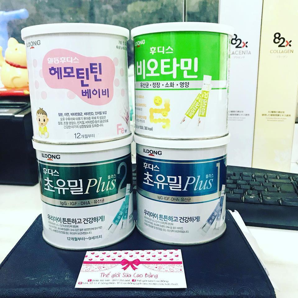 (Bán Lẻ) Sữa non ilDong Hàn Quốc đủ loại date mới nhất