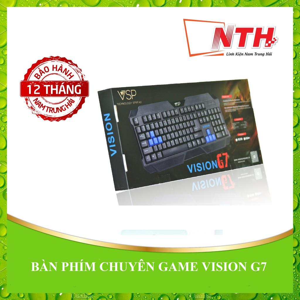[NTH] BÀN PHÍM CHUYÊN GAME VISION G7