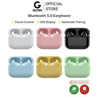 Tai nghe bluetooth không dây Gutek Apro TWS v5.0 nút cảm ứng nghe nhạc âm thanh sống động