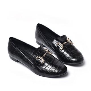 Giày mọi vân rắn Merly 1317