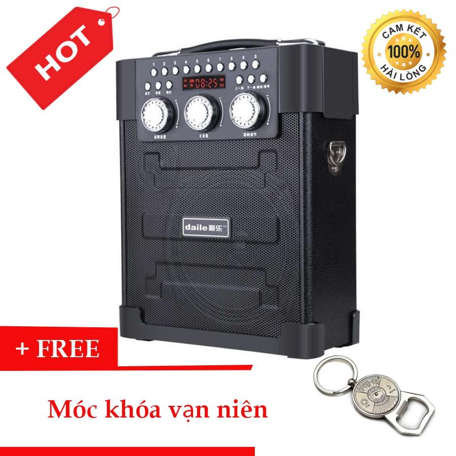 Loa Kéo đa năng Bluetooth hát karaoke Daile S9 + Tặng Móc Khóa Vạn Niên - 3403990 , 1258460473 , 322_1258460473 , 950000 , Loa-Keo-da-nang-Bluetooth-hat-karaoke-Daile-S9-Tang-Moc-Khoa-Van-Nien-322_1258460473 , shopee.vn , Loa Kéo đa năng Bluetooth hát karaoke Daile S9 + Tặng Móc Khóa Vạn Niên