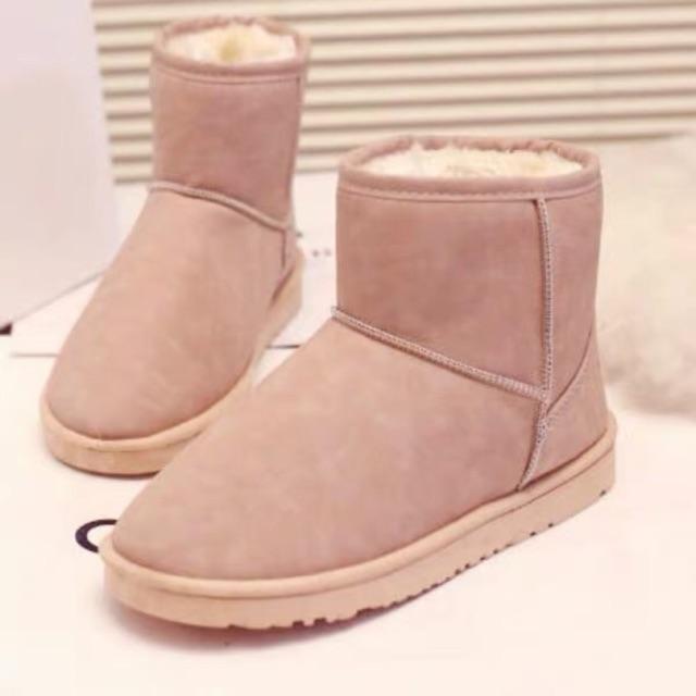 Boots lông ấm hàng chuẩn