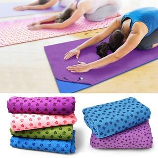 Khăn trải thảm tập Yoga chống trượt