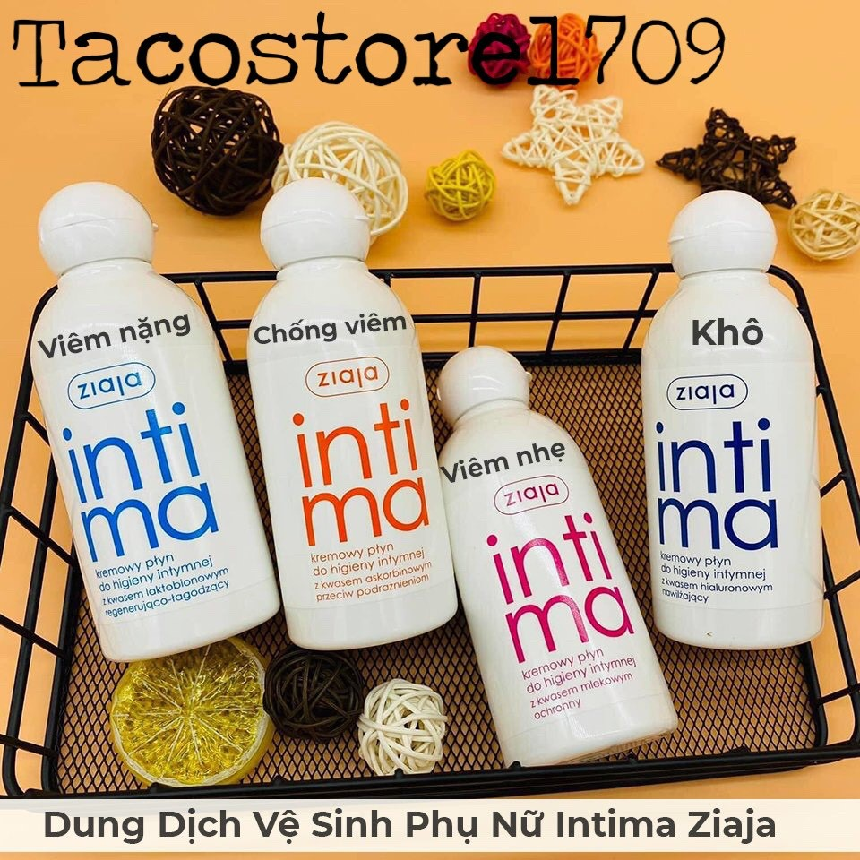Dung Dịch Vệ Sinh Intima 200ml