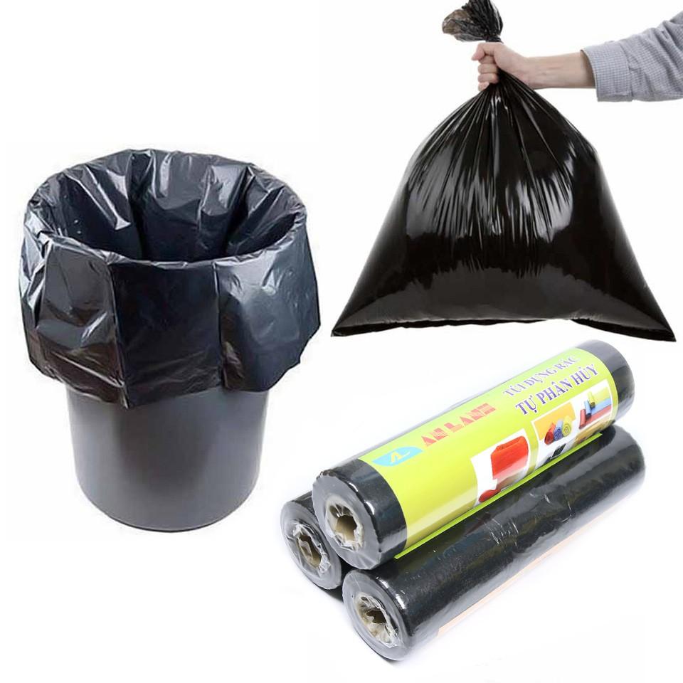 Cuộn túi đựng rác [TỰ PHÂN HỦY] bảo vệ môi trường An Lành CHÍNH HÃNG