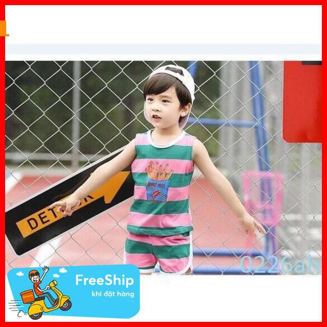 [Giảm Giá 50%] quần áo trẻ em- bộ hè cho bé
