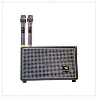 Loa Kéo Mini Kingbass KB-188, Loa Karaoke Công Suất Lớn, Tích Hợp Chức Năng Livestream, Thay Đổi Giọng Nói + Kèm 2 Micro