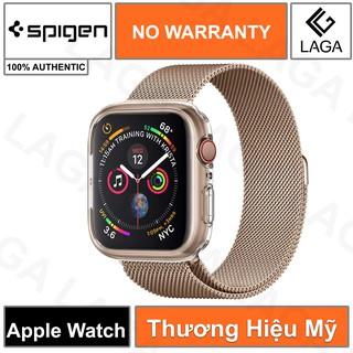 Ốp Lưng Apple Watch 40mm / 44mm Spigen Liquid Crystal Series 4/5/6/SE