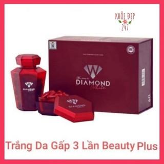 Viên Uống Trắng Da DIAMOND WHITE NGỌC TRINH - Trắng Da gấp 3 lần Beauty Plus Chính Hãng thumbnail