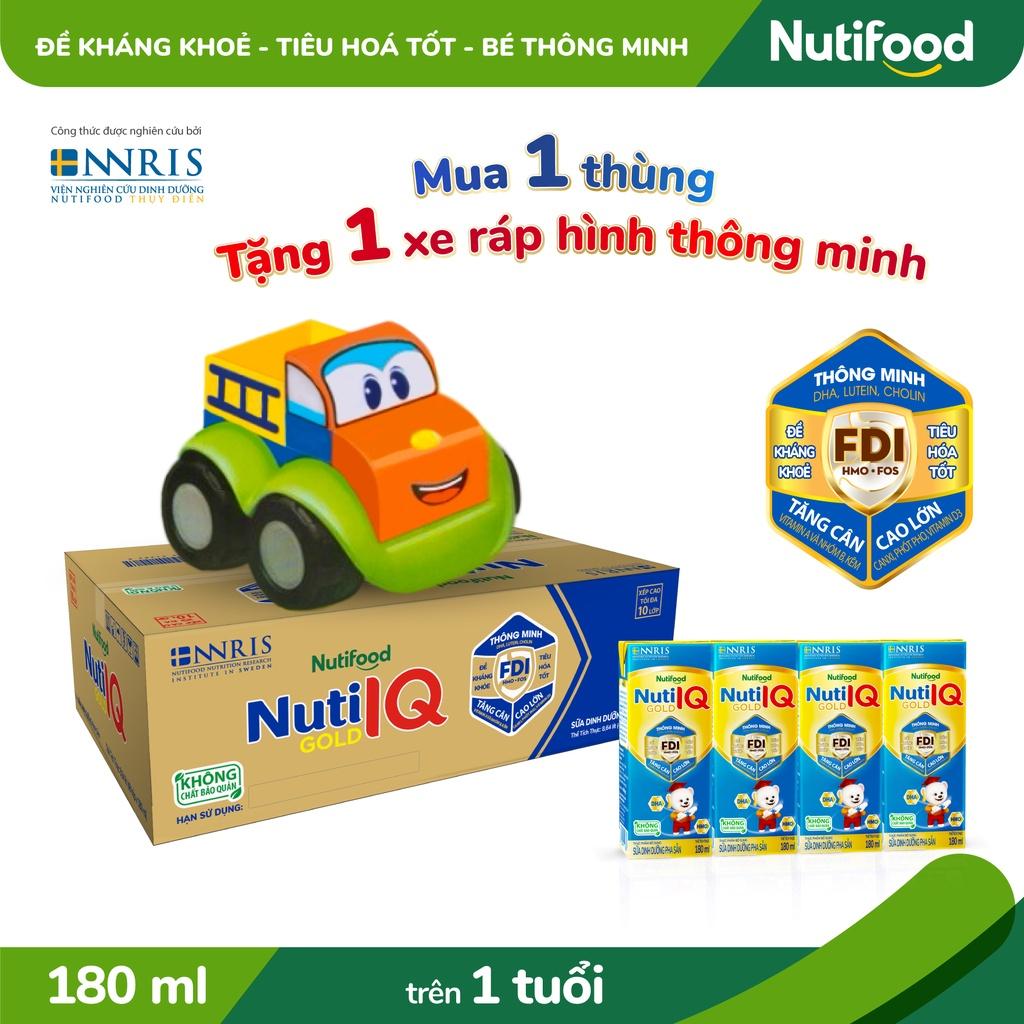 Thùng 48 hộp Sữa Bột Pha Sẵn Nuti IQ Gold 180ml/hộp