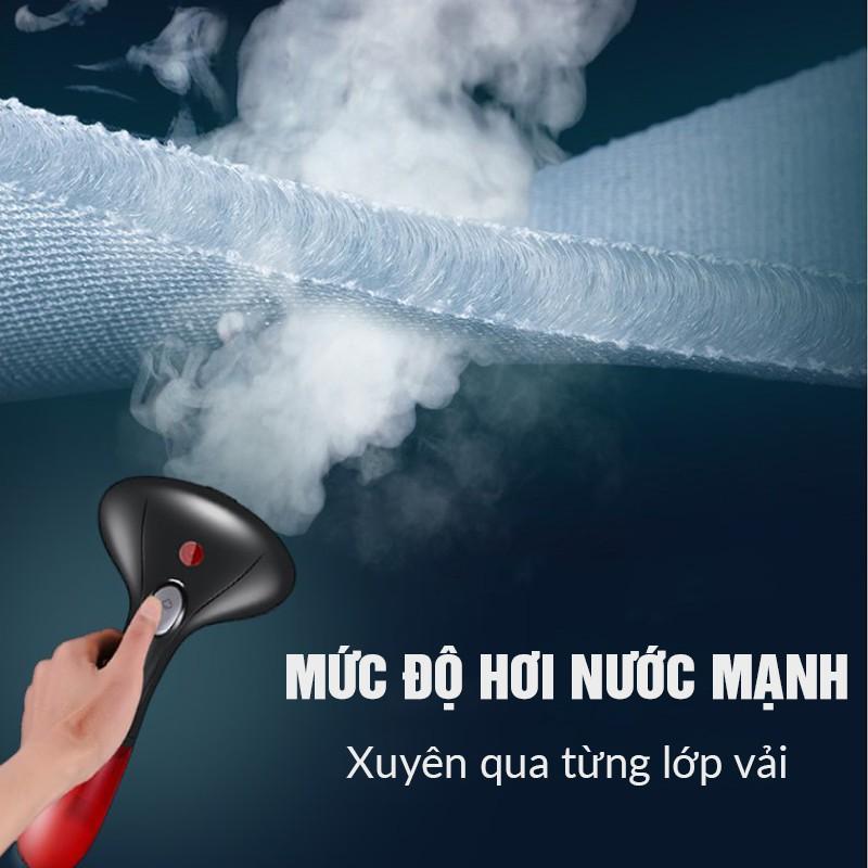 [BH 1 đổi 1] Bàn ủi hơi nước cầm tay chính hãng GARMENT STEAMER, bàn là du lịch - SANG TRỌNG - Nhỏ gọn, tiện lợi