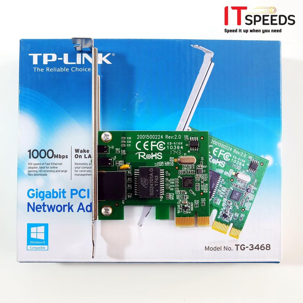 Card mạng Lan Gigabit TP-Link TG-3468  Chính hãng