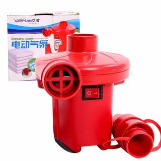 Bơm điện 2 chiều thổi – hút chân không chuyên dụng để bơm phao bơi, ghế, nệm hơi – đồ dùng tiện ích