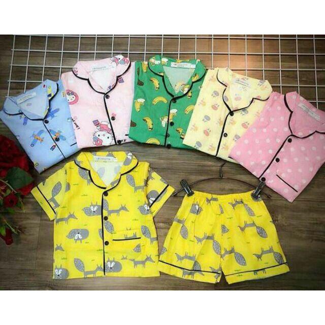 Sỉ bộ pijama cộc tay cho bé - 3339043 , 888108853 , 322_888108853 , 1350000 , Si-bo-pijama-coc-tay-cho-be-322_888108853 , shopee.vn , Sỉ bộ pijama cộc tay cho bé