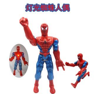 Spiderman phát nhạc, phát sáng – Người nhện phát nhạc, phát sáng- Đồ chơi người nhện Jika Store
