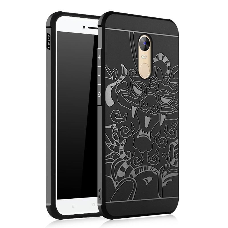 Xiaomi Note 4X_Ốp chống sốc cao su vân rồng (note 4 Chính hãng TGDD) FREE SHIP COD
