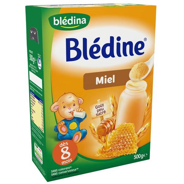 Bột lắc sữa Bledina mật ong (8m+) 240g