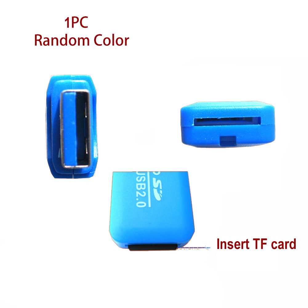 USB 2.0 Memory Card Reader Adapter Writer Flash Drive For TF MicroSD