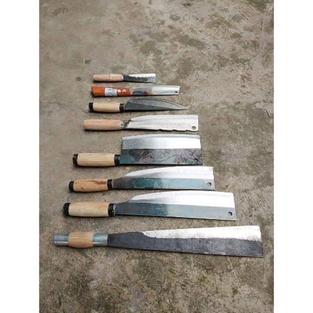 combo dao 8 món được làm từ nhip oto chuyên dùng cho nhà bếp