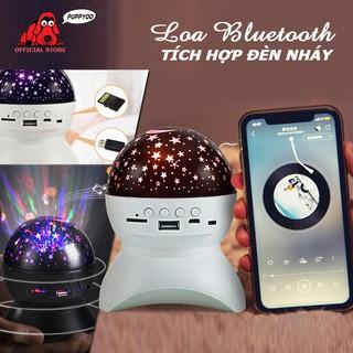 Loa bluetooth đèn led đa chế độ nhấp nháy kết nối bluetooth 4.0 hỗ trợ thẻ nhớ nghe nhạc cực đỉnh