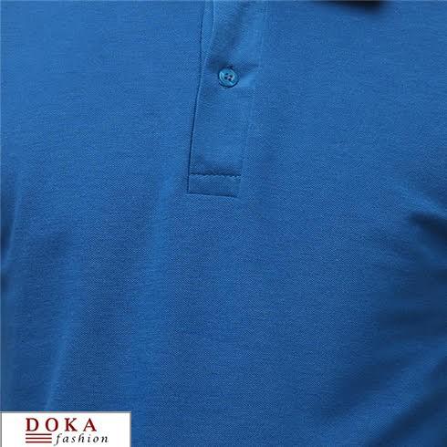 THANH LY CUỐI NĂMCOMBO 2 Áo thun cá sấu nam cao cấp, xanh dương đậm DKCB003