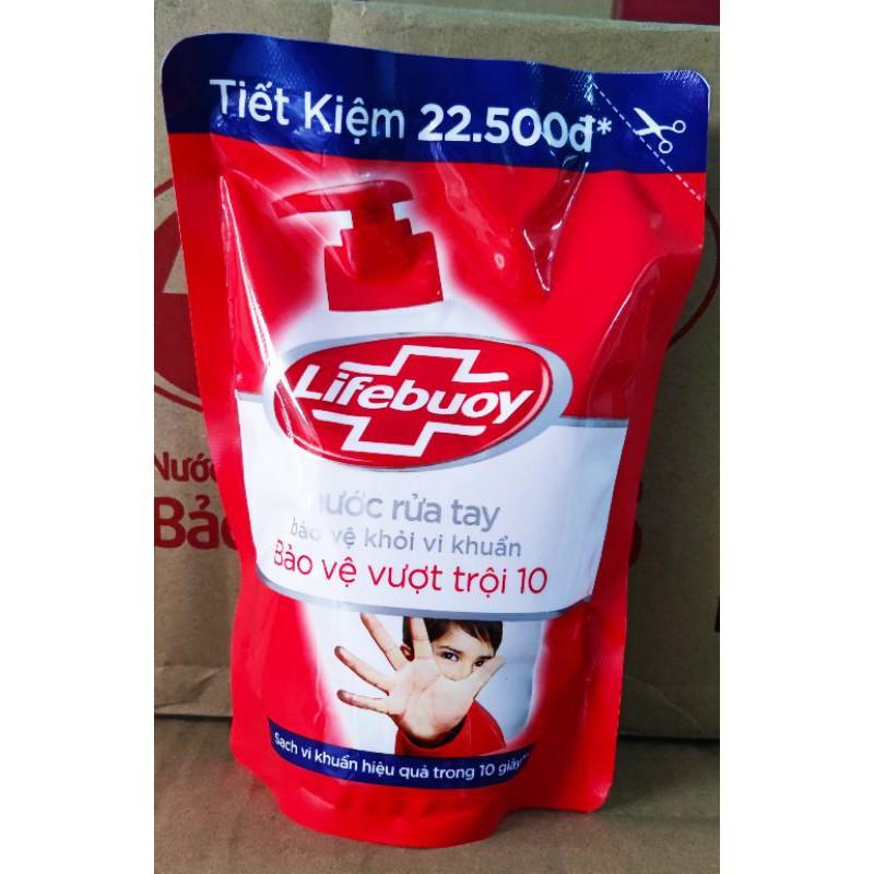 Nước rửa tay lifebuoy túi 450g - nước rửa tay lifebouy