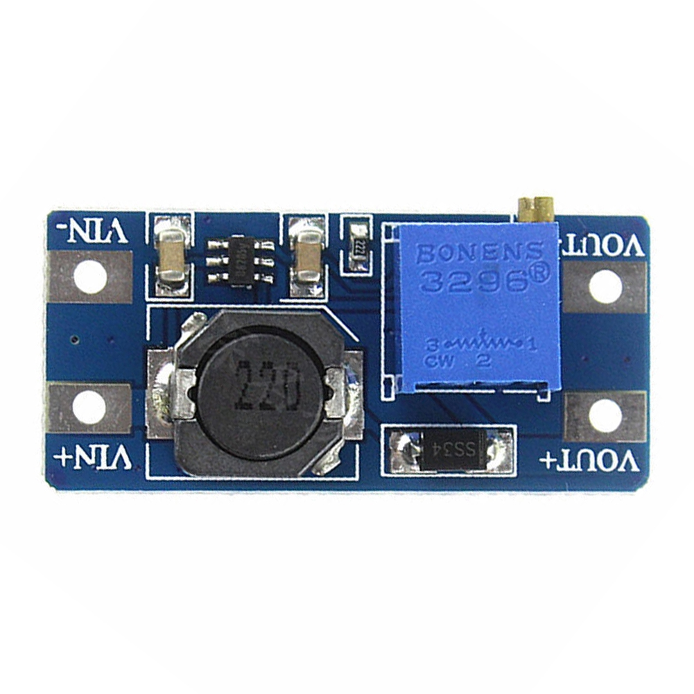 Micro USB Electronic Adjustable Voltage Step Up DC-DC 2A DIY 2V To 24V Boost Module Giá chỉ 40.000₫