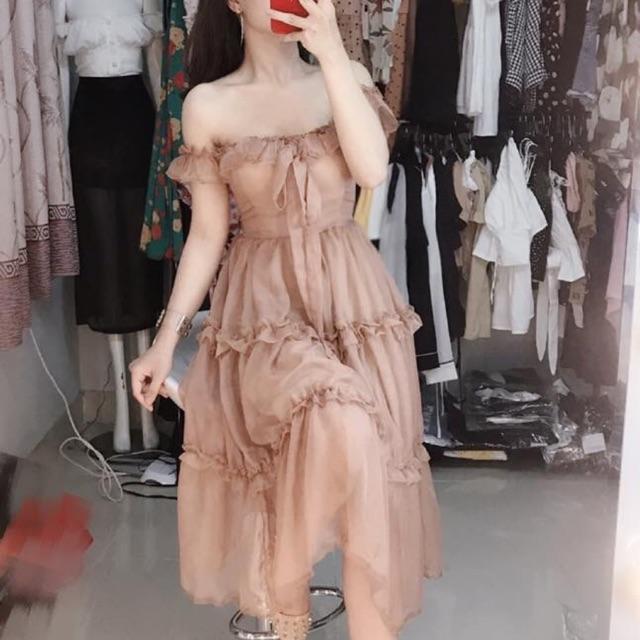 Váy nâu bánh bèo .❤️❤️❤️❤️❤️❤️❤️❤️❤️❤️